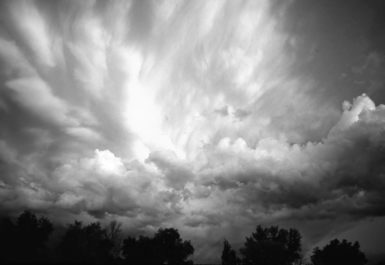 Himmel Schwarz & Weiß