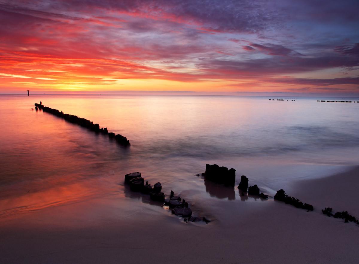 Baltischer Sonnenaufgang
