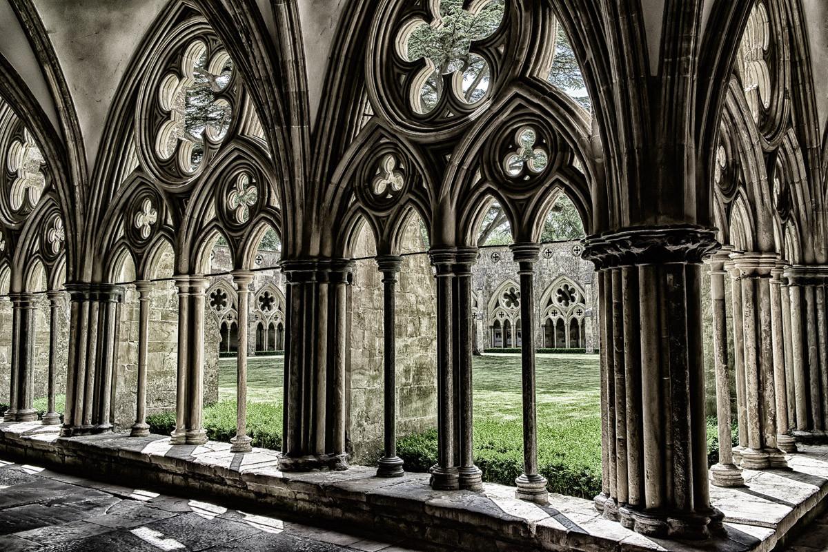 Mittelalterliche Kathedrale