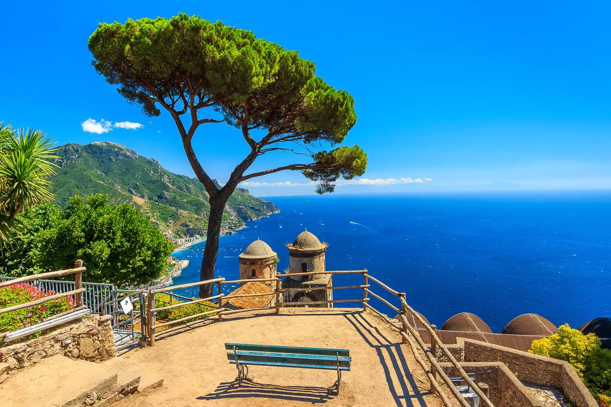 Panorama Ravello Amalfi