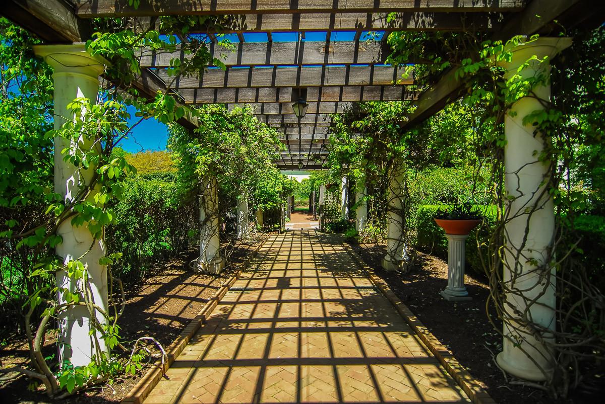 Garten Gehweg