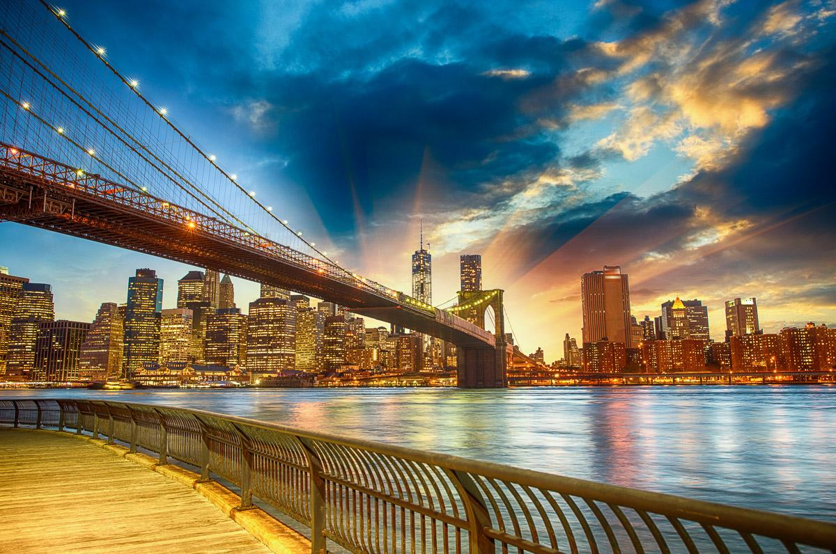 Manhattan Sonnenuntergang