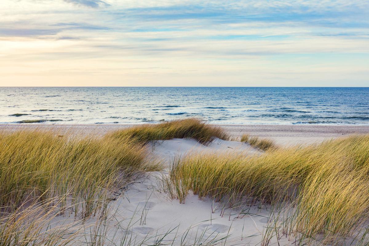 Dünen in der Ostsee
