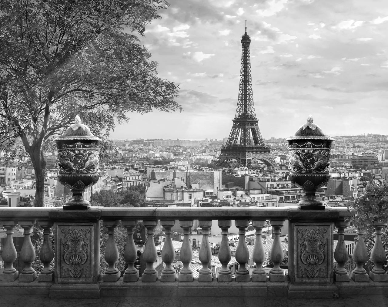 Paris Schwarz & Weiß