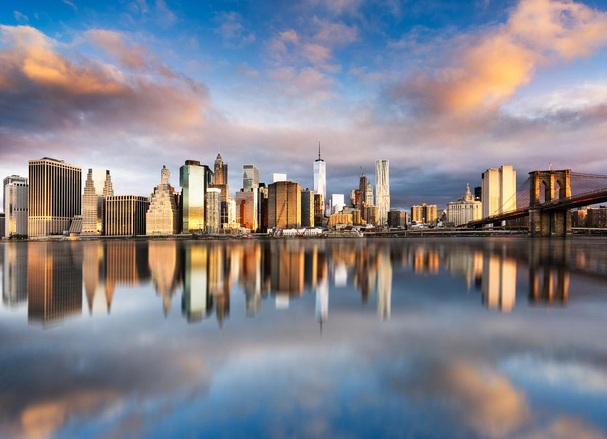 Manhattan Sonnenaufgang