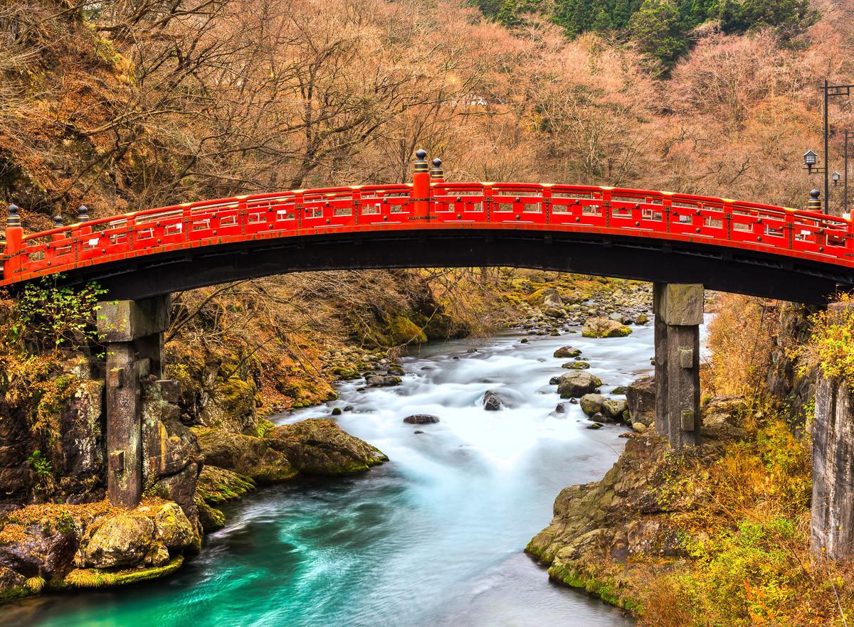 Nikko Heilige Shinkyo Brücke