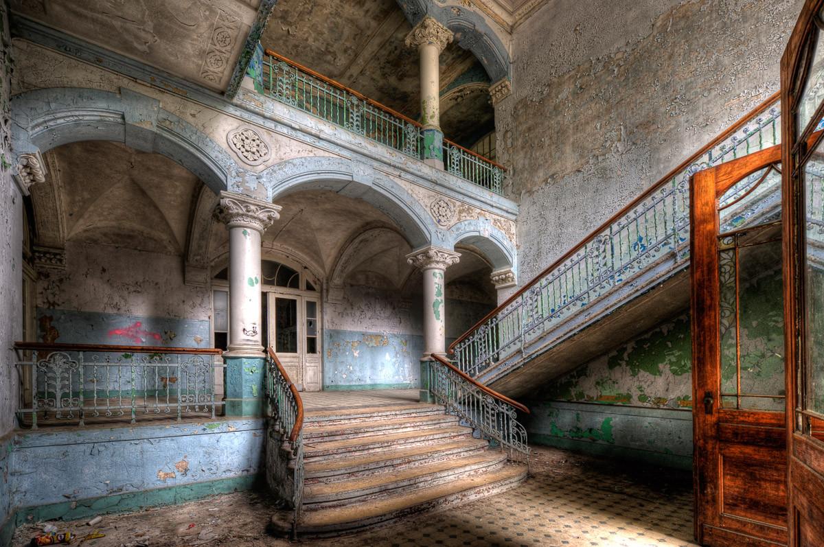 Verlassenes Krankenhaus Beelitz