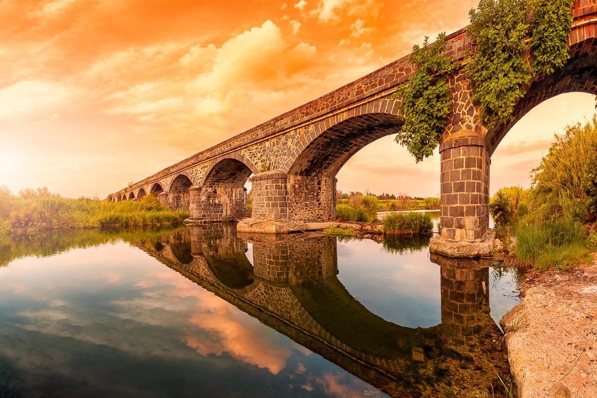 Alte Flussbögen Cedrino