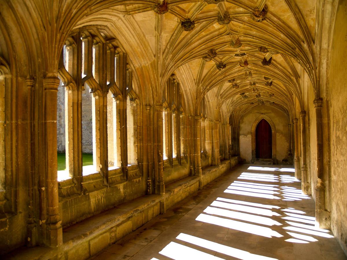 Sunlit Abbey