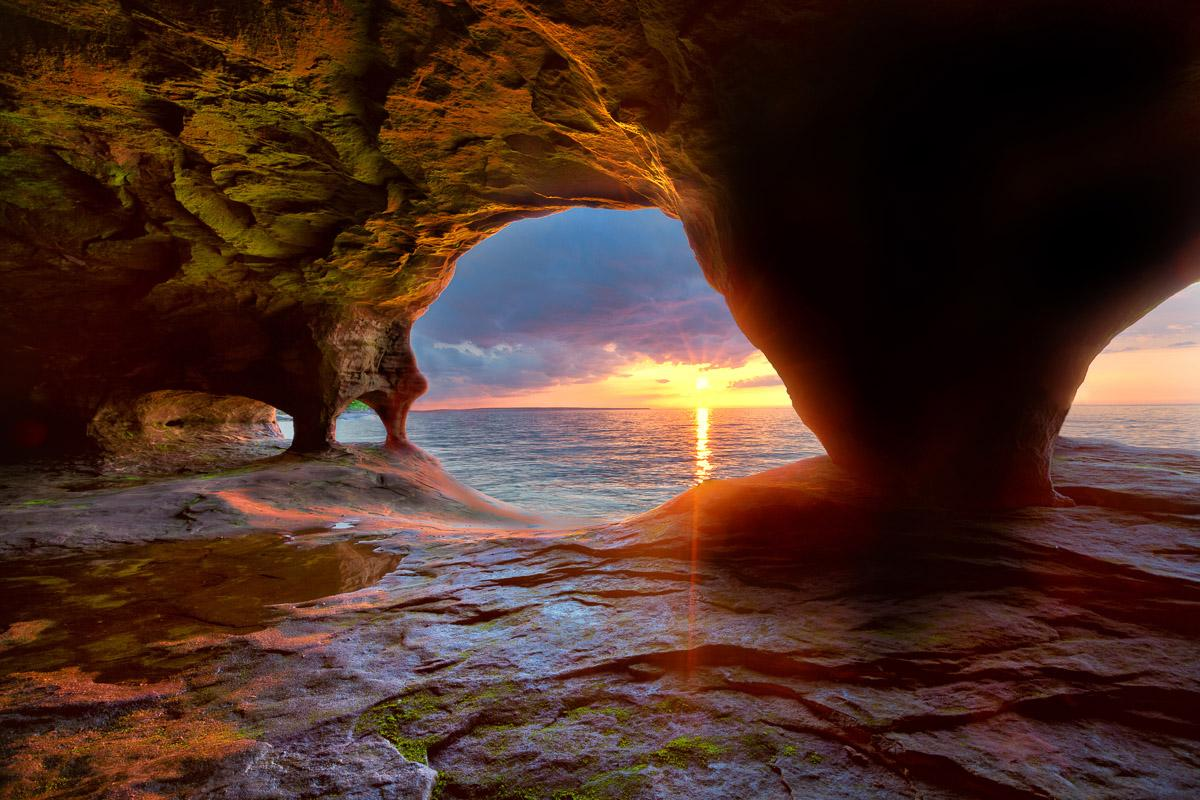 Sea Caves Lake Superior