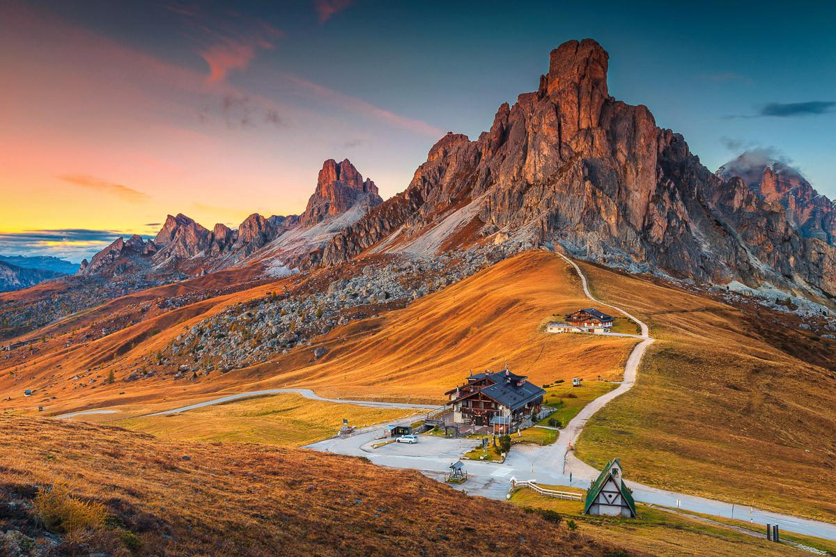 Alpenpass Dolomiten
