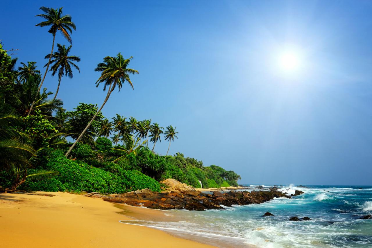 Sri Lanka tropischer Strand