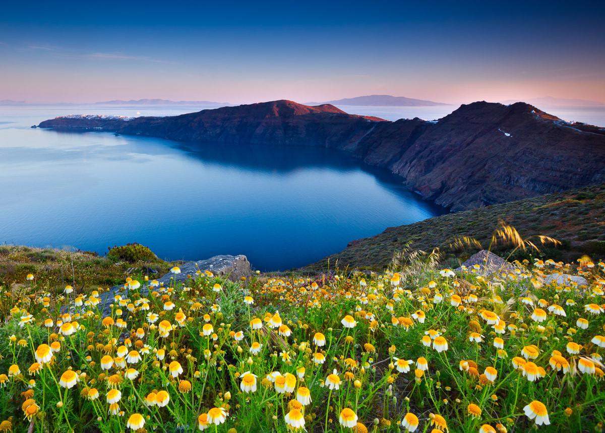 Santorini Frühling