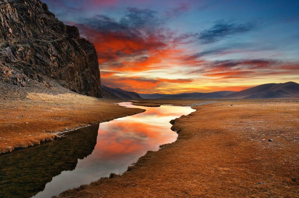 Mongolischer Tagesanbruch