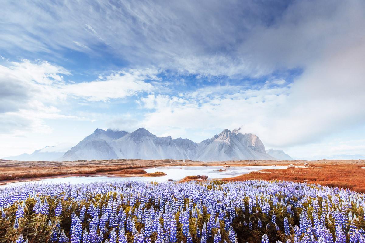Island-Ansicht