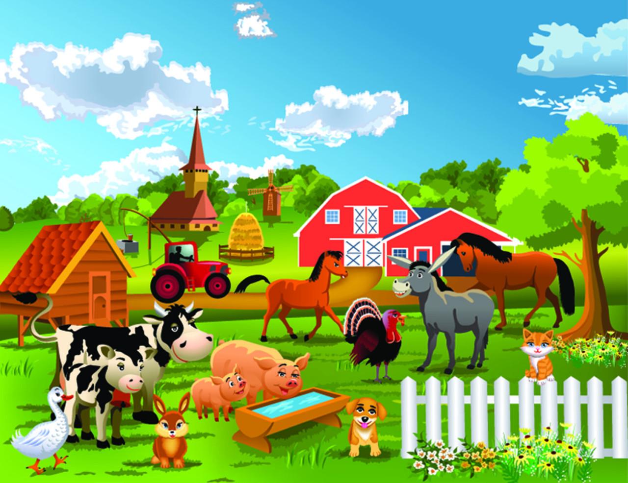 Bauernhof, Bauernhof