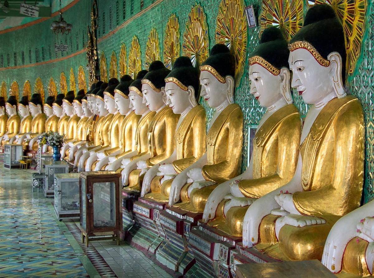U Min Thonze Buddhas