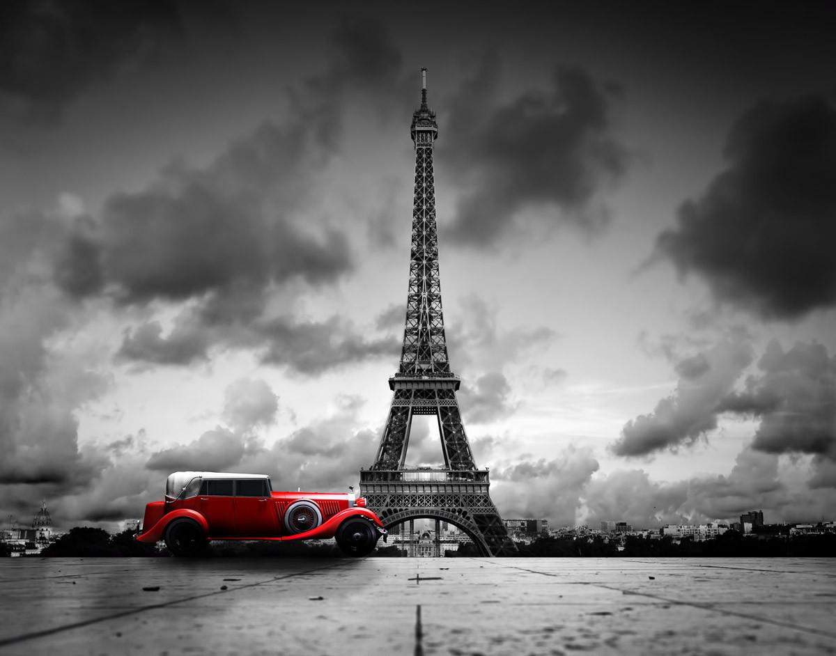 Oldtimer Eiffelturm