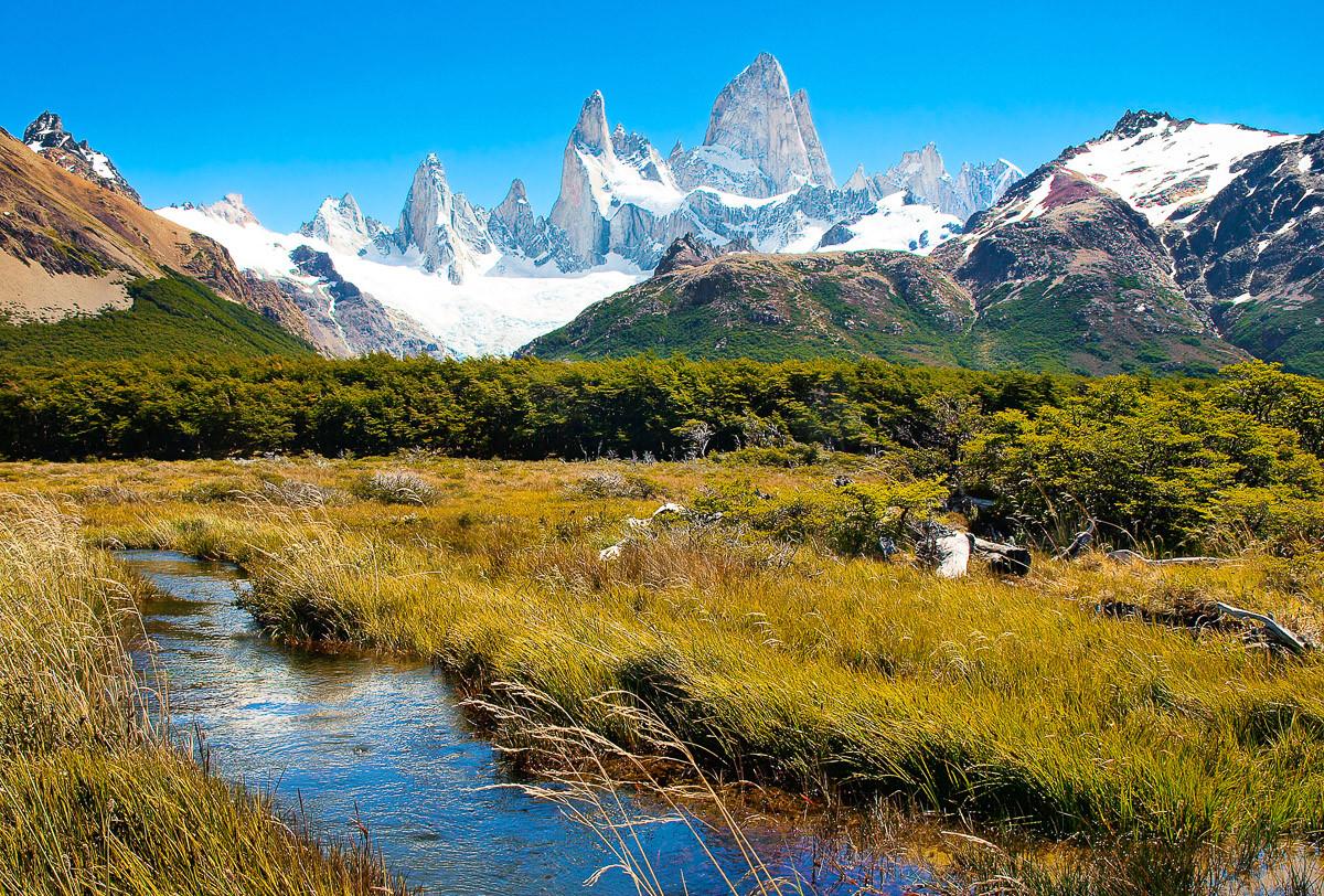 Berge in Patagonien