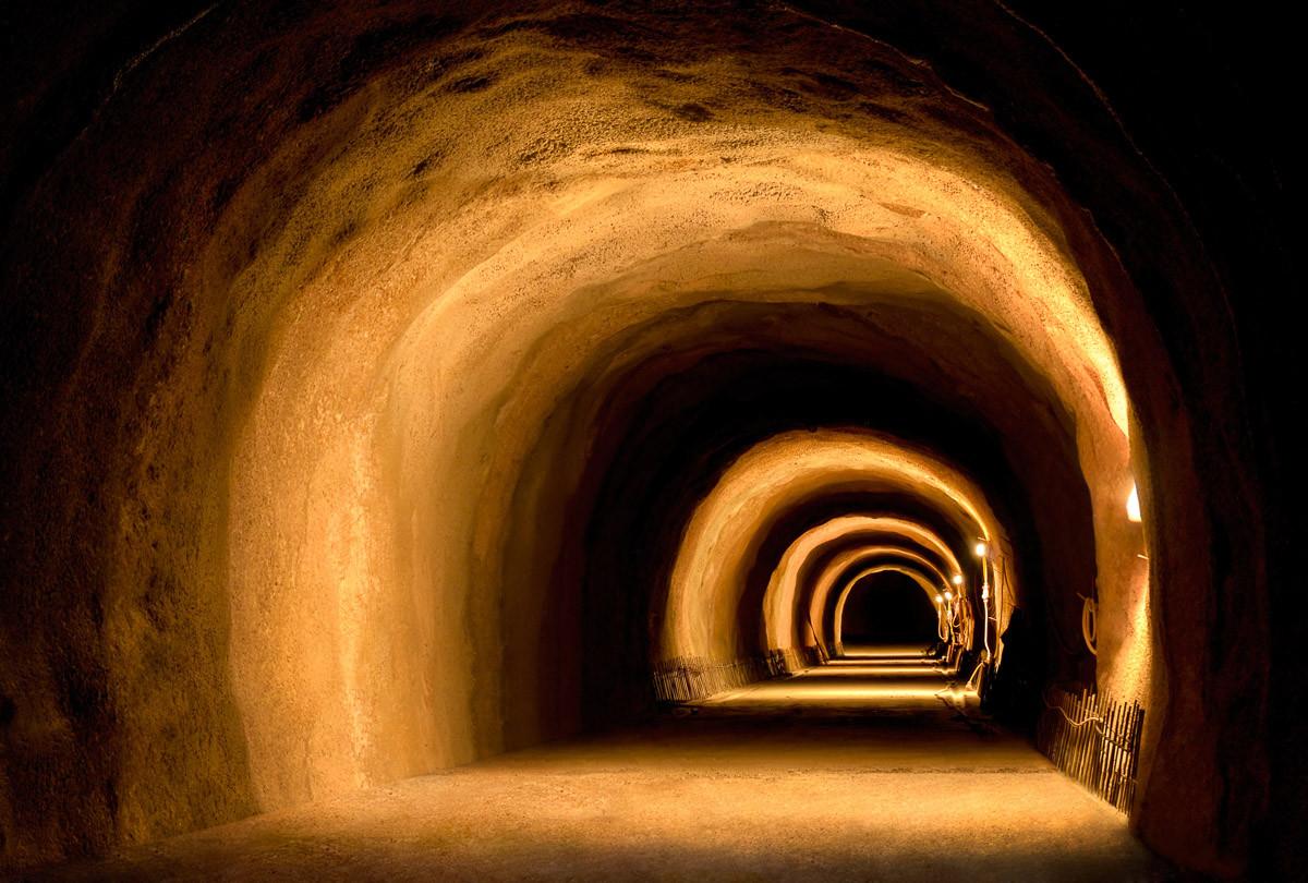 Visuell dynamischer Tunnel