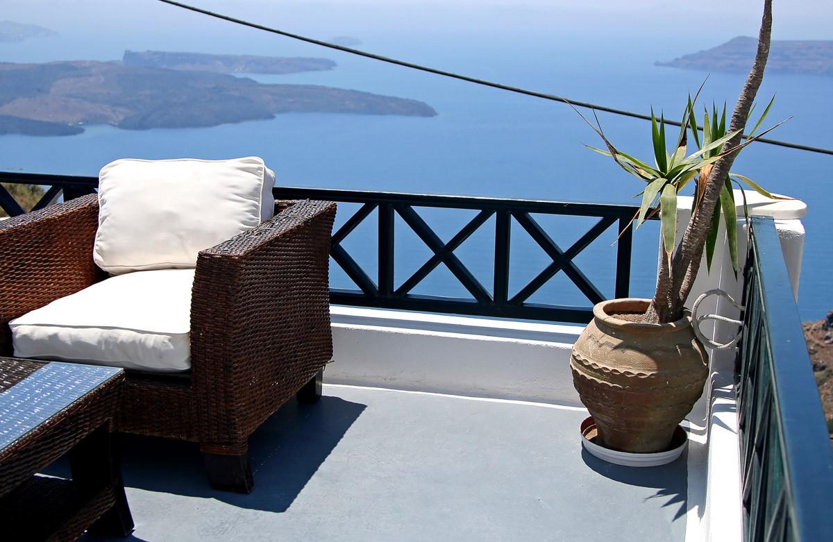 Santorini Inselblick