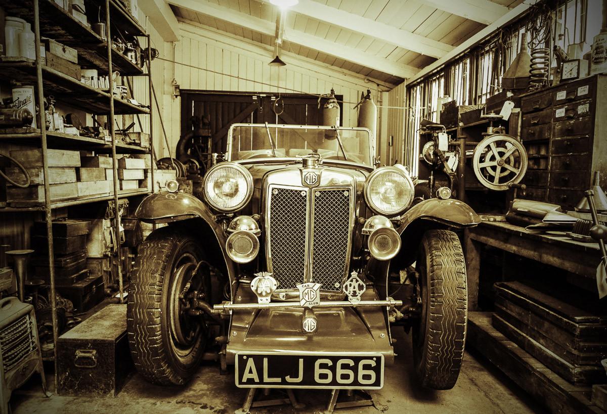 Vintage Sportwagen