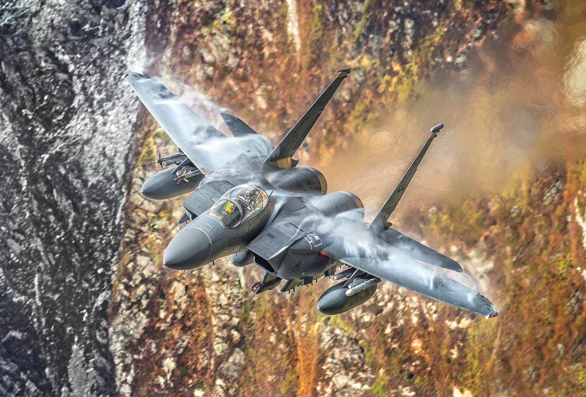 F15 Strike Eagle Fighter